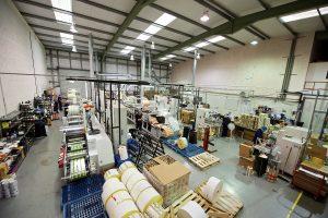 Watershed Label Group Factory Floor