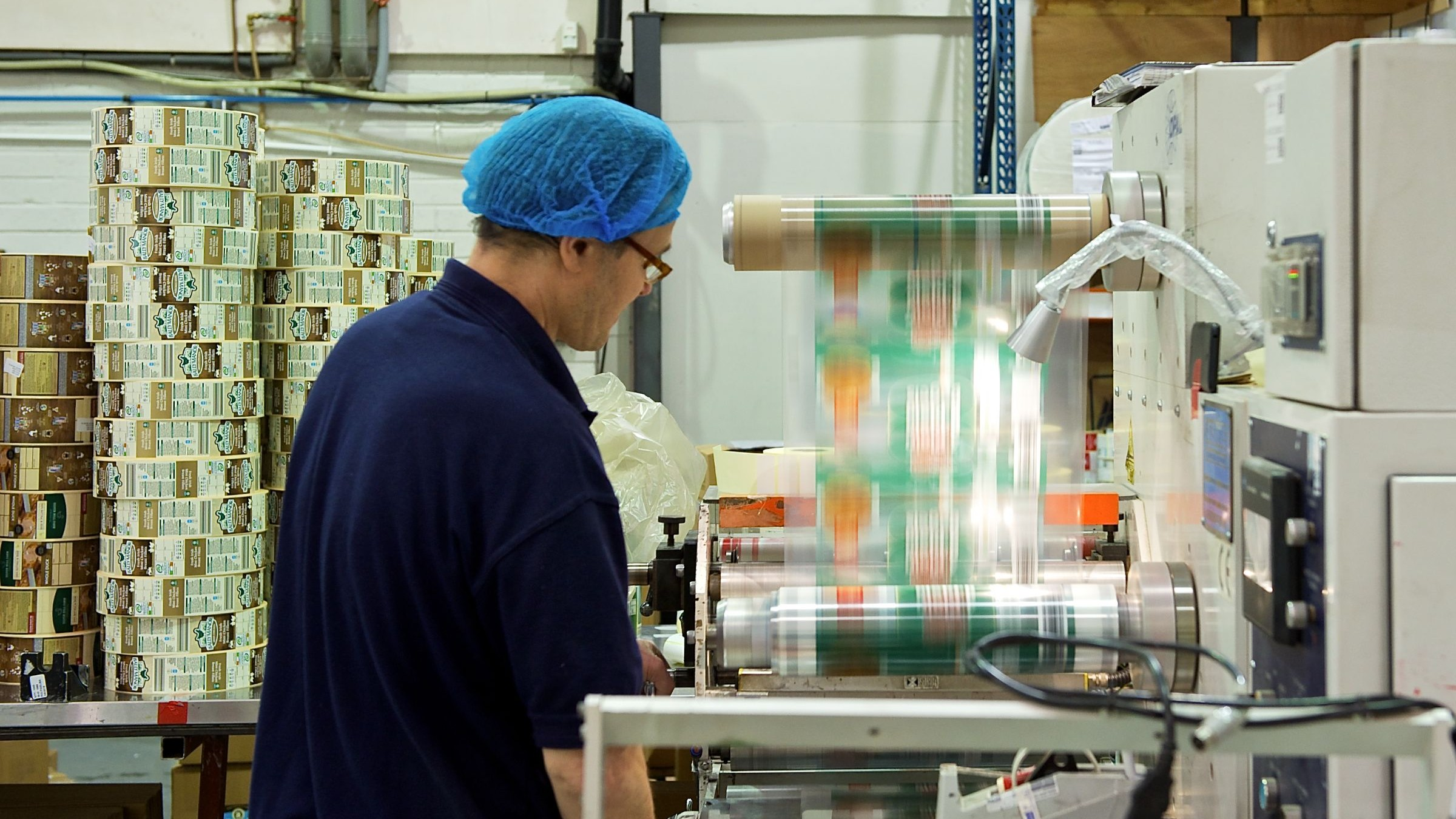 Watershed Group Manufacturing Facility Employee Working