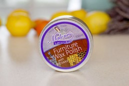 Watershed Group Self Adhesive Labels Malone's Lavender Wax Polish
