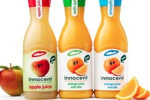 Watershed Group Self Adhesive Labels Juice
