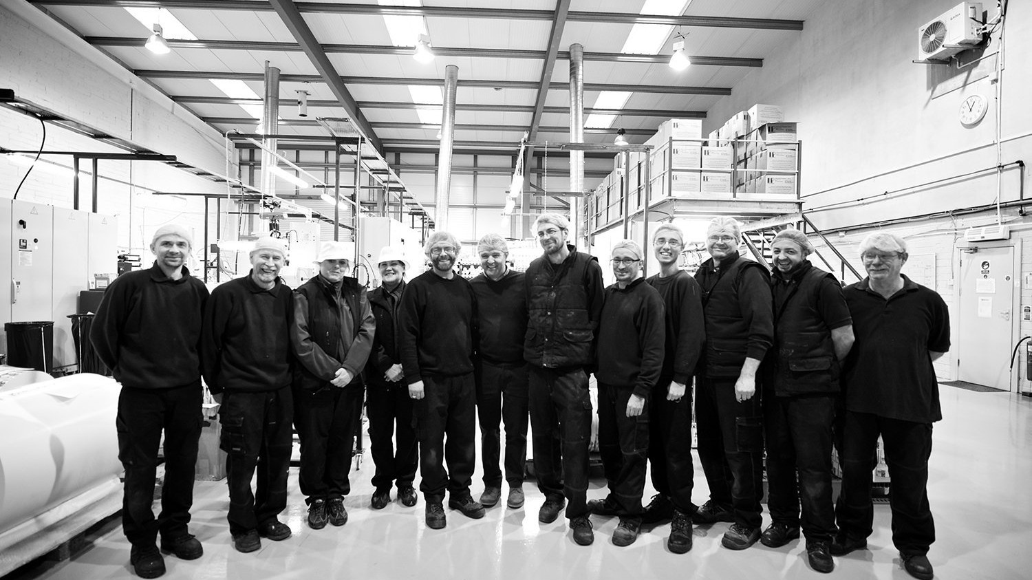 Watershed Group Manufacturing Facility Staff