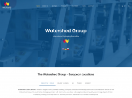 Watershed Group New Website Launch