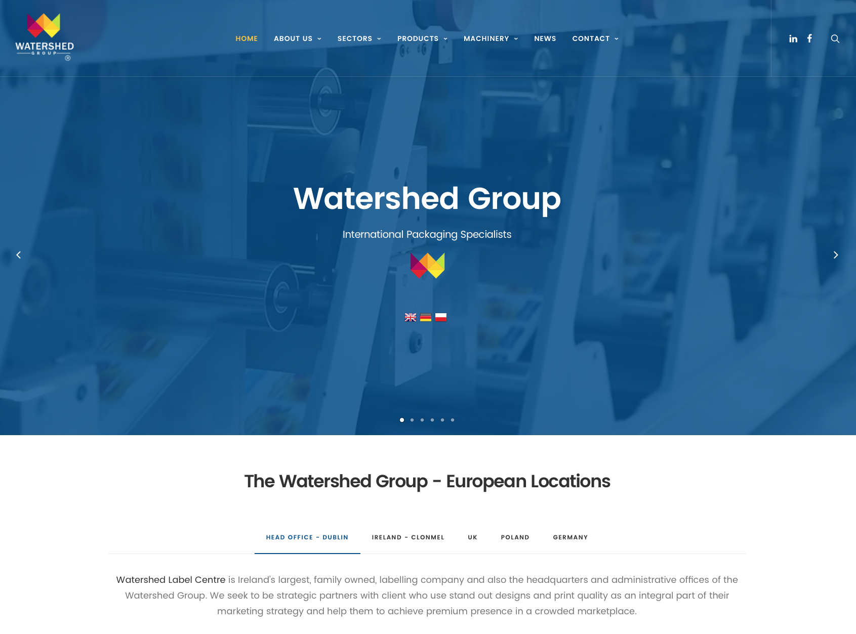 Watershed Group New Website