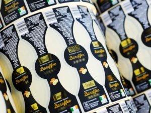 Watershed Group Self Adhesive/Pressure Sensitive Labels Banoffee Yoghurt