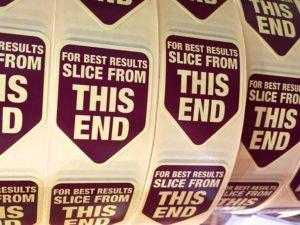 Watershed Group Self Adhesive Custom Labels Die Cut Shape