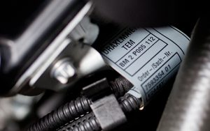 Watershed Group Self Adhesive Labels Automotive Close Up