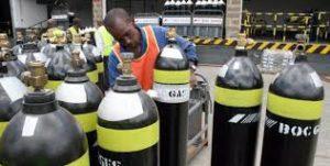 Watershed Group Self Adhesive/Pressure Sensitive BOC Gas Label