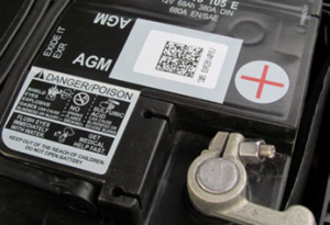 Watershed Group Self Adhesive Labels Automotive Battery