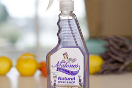 Watershed Group Self Adhesive Labels Malone's Natural Spray & Mop Wooden Floor Cleaner