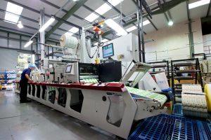 Watershed Group Printing Press P5 Label
