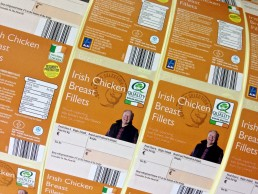 Watershed Group Self Adhesive/Pressure Sensitive C Wrap Labels Chicken Breast