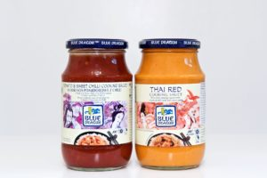 Watershed Group - Self Adhesive Food Labels Blue Dragon Sauces