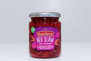 Watershed Group - Self Adhesive Food Labels Baxters Red Slaw
