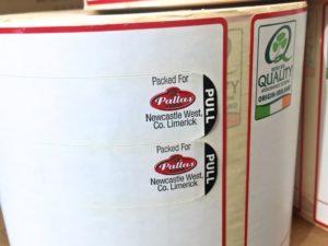 Watershed Group Self Adhesive/Pressure Sensitive Peel and Read Labels