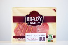 Watershed Group - Self Adhesive Labels Brady Family Crumbled Ham Front