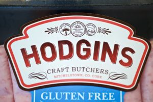 Watershed Group - Self Adhesive Labels Hodgins Sausages Close Up