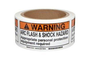 Arc Flash Hazard Tape Watershed Group