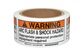 Arc Flash Hazard Tape Watershed Group