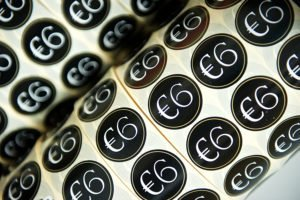Watershed Group Promotional Labels Six Euro
