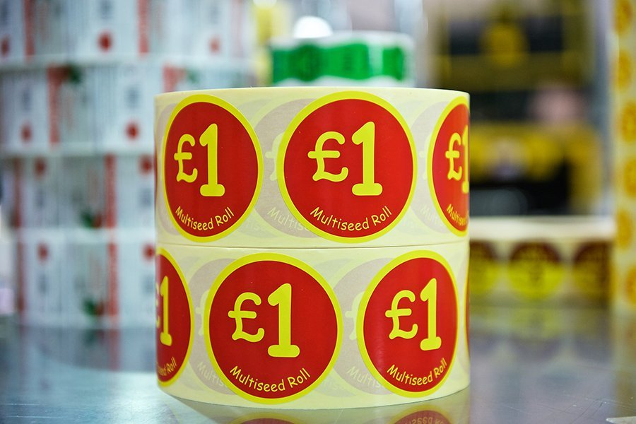 Promotional Self-Adhesive Labels | Flash Labels ...