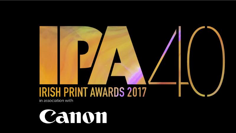Watershed Group Nominated for six awards at the Irish Print Awards 2017 - IPA Logo